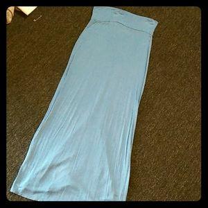 Cotton Rue 21 blue skirt!